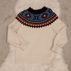 Vintage Vibes Chaps Sport Aztek Sweater